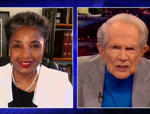Pat Robertson and Dr. Swain discuss Critical Race Theory on the 700 Club